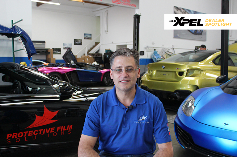 Protective Film Solutions in Santa Ana, CA talks about being an XPEL Installer for Car Dealerships